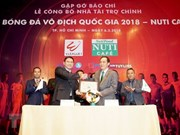 Nutifood becomes main sponsor of V.League 2018