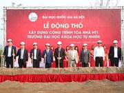 Work starts on new building of Hanoi University of Science