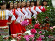 Thousands of people join Bulgarian rose festival in Hanoi