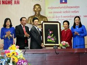 Lao NA committee for ethnic affairs delegation visits Nghe An