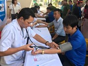 Blood donation festival opens in Binh Phuoc