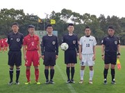 Vietnam U16 team top Group D at ASEAN event