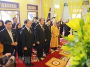 Deputy PM pays homage to Most Venerable Thich Thanh Sam