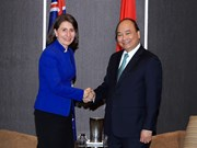 Prime Minister Nguyen Xuan Phuc meets New South Wales leaders