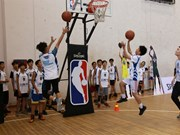 US basketball development programme returns to Vietnam