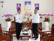 Binh Duong leader greets Phu Cuong Diocese on Saint Joseph's Day