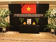 Memorial services for former PM Khai in Laos, Japan
