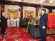 Funeral held for former PM Phan Van Khai