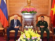 Vietnam, Russia intensify cooperation in military security