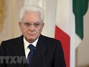 Italian President sends message to Vietnam on ties' 45th anniversary