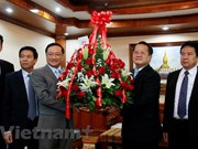 Vietnam congratulates Laos on 63rd Party founding anniversary