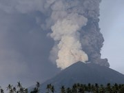 Indonesia: toxic gas from volcano harms 30 people