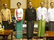 Congratulations to Myanmar Speaker of House of Representatives