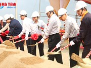 Work starts on 7.5 million USD factory in Vung Ang EZ
