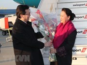 NA Chairwoman arrives in Geneva for attendance at IPU-138