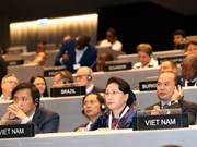 Top legislator attends IPU-138 general debate on migrants, refugees
