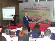 Vietnamese firms push food safety