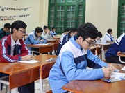 About 500 students join Hanoi mathematics contest