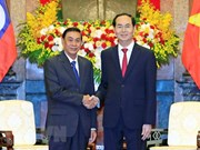 President hails cooperation between Presidential Offices of Vietnam and Laos