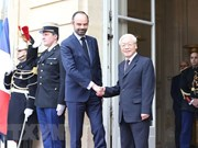 Vietnam's Party leader meets French Prime Minister