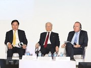 Party chief expects French enterprises to succeed in Vietnam