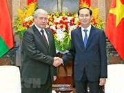 President hosts Belarusian Deputy PM