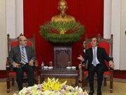 Chairman of Party's economic commission hosts IFM official