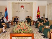 Vietnam, Mongolia to make defence ties meet potential