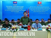 Tay Ninh, Cambodian localities cooperate to fight border crime