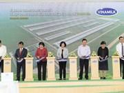 Vinamilk opens high-tech dairy farm in Thanh Hoa