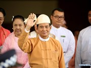 Myanmar's new president pledges three objectives