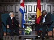 Party chief urges Vietnam, Cuba to bolster economic cooperation