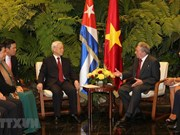 Vietnam, Cuba issue joint statement