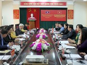 Tuyen Quang hosts Lao Front for National Construction officials