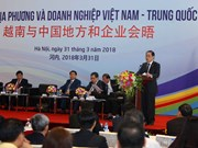 Hanoi meeting links Vietnam-China localities, businesses