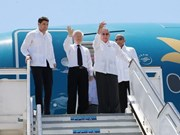 CPV leader Nguyen Phu Trong wraps up State visit to Cuba