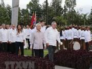 Vietnam's Party leader sends thank-you message to Raul Castro Ruz