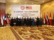 ASEAN, US hold 31st dialogue in Malaysia