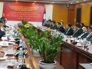 Vietnam, Laos talk ways to enhance cooperation in energy, mining