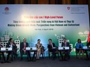 Forum spotlights Vietnam–Switzerland cooperation for green growth