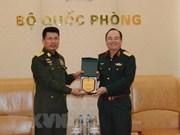 Vietnam, Myanmar foster defence cooperation