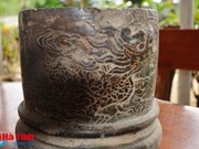 Nguyen Dynasty's object unearthed in central province