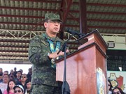 Philippine President assigns new chief of armed forces
