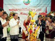 HCM City leaders extends New Year greetings to Lao officials