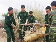 Quang Ninh, Hoa Binh tackle war-left bombs