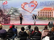 Vietnam festival attractive to visitors in Japanese prefecture