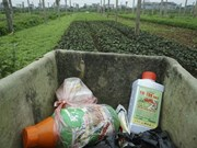 Hanoi tackles plant protection packaging waste