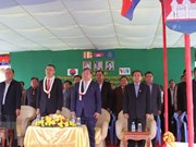 Cambodia inaugurates TV broadcasting station financed by Vietnam