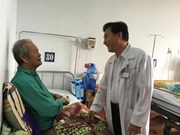 Japanese-funded projects improves health care services to elderly