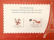 Vietnam, France issue commemorative postage stamps